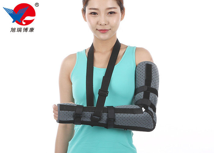 Breathable Soft Elbow Support Brace , Good Air Permeability Adjustable Elbow Support