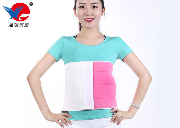 Fish Line Cloth Waist Support Brace , Protective More Width Female / Male Back Brace