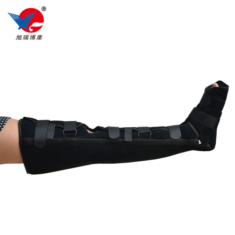 Medical Leg Crus Knee Support Brace Breathable Lower Extremity Orthosis Brace